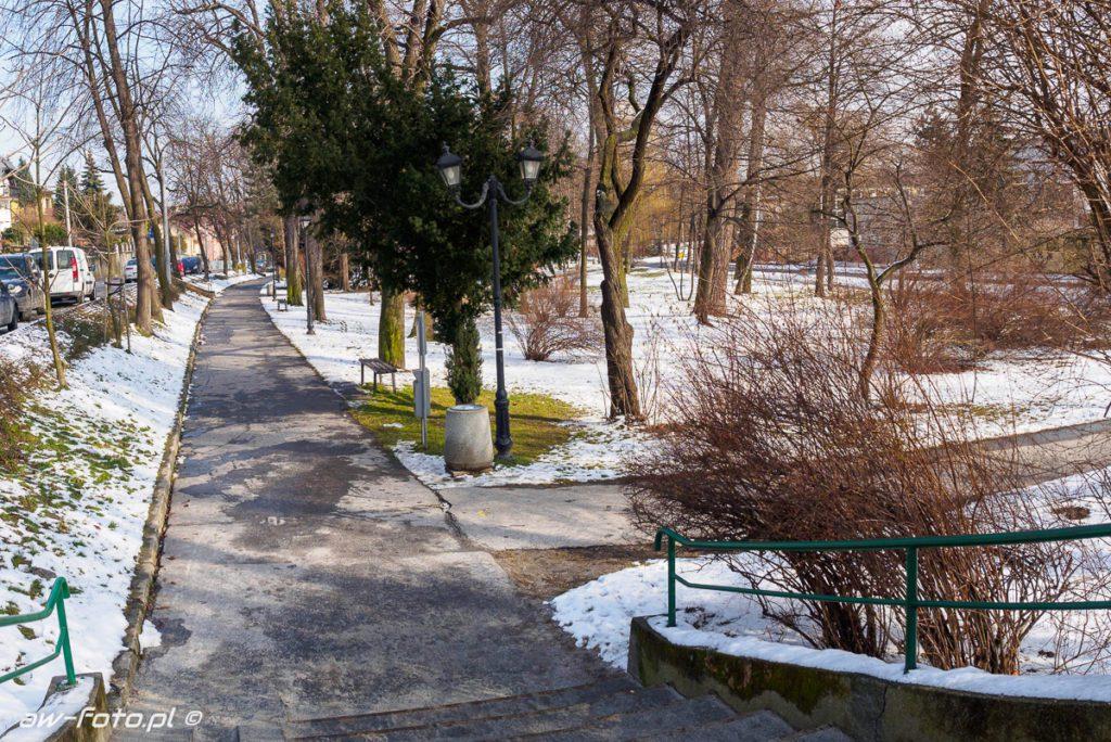 Planty Salinarne w Bochni, szlak Bocheńskich wagoników (NaCl)
