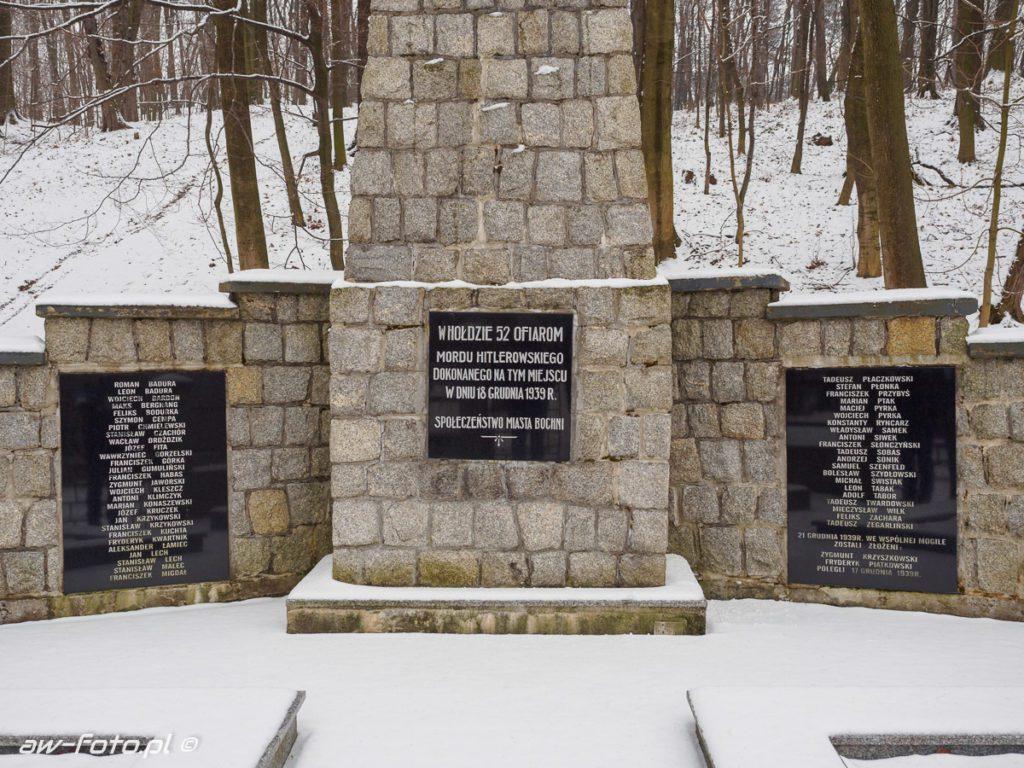 Uzbornia pomnik w Bochni