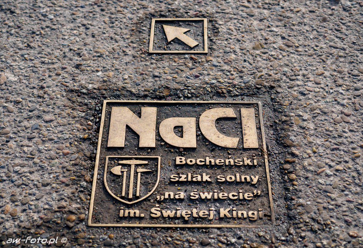 NaCl Bocheński szlak solny, szlak Bocheńskich wagoników (NaCl)