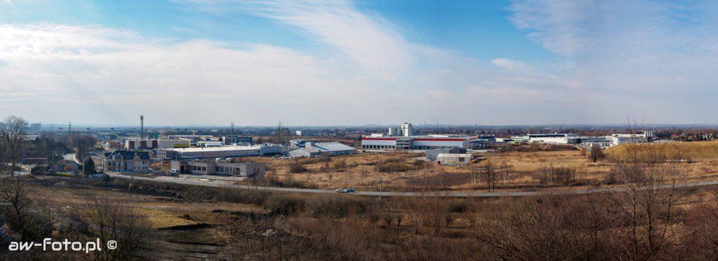Kopiec Grunwaldzki w Niepołomicach - panorama