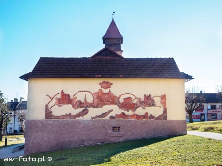 Mural w Nowym Wiśniczu
