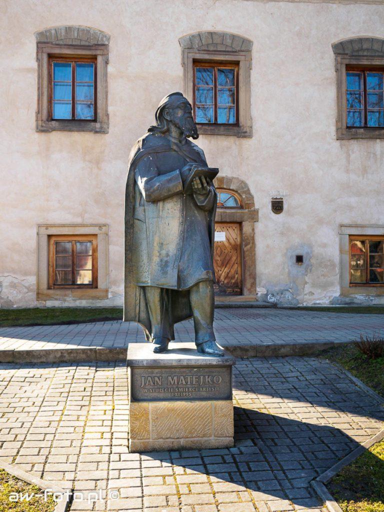 Pomnik Jana Matejki w Nowym Wiśniczu