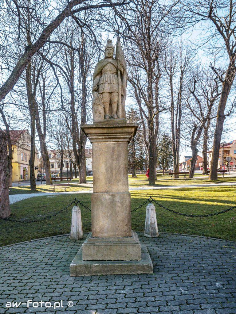 Figura św. Floriana w Nowym Wiśniczu