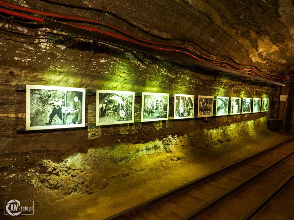 Kopalnia Soli w Bochni - ekspozycja zdjęć