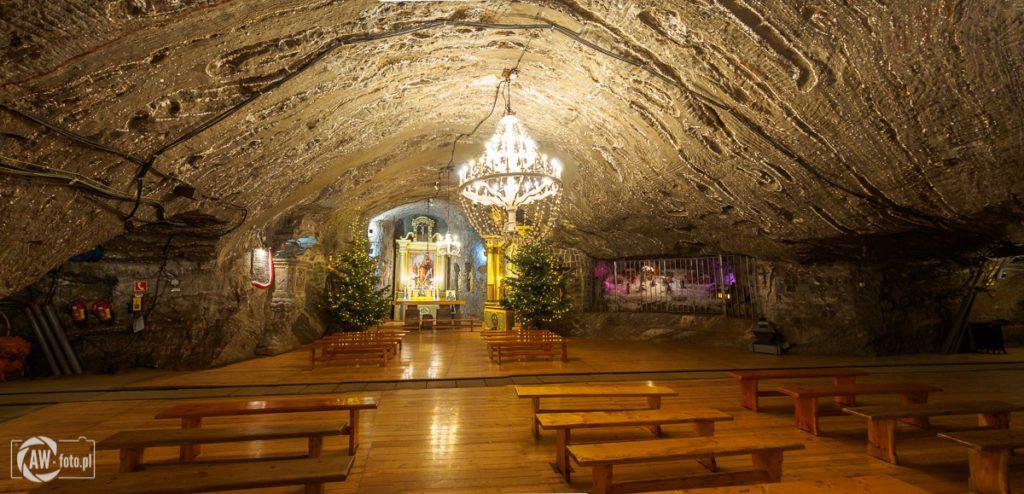 Kopalnia Soli w Bochni - kaplica św. Kingi