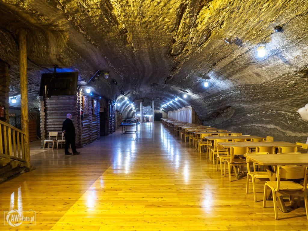 Kopalnia Soli w Bochni - komora Ważyn - gastronomia