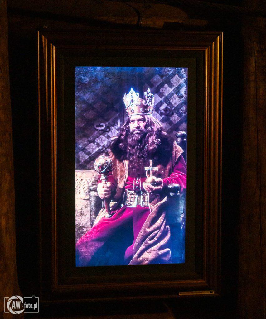 Kopalnia Soli w Bochni - król Kazimierz Wielki