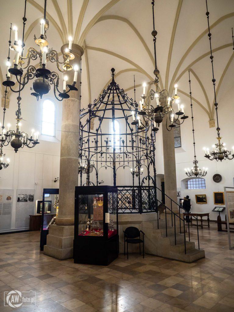 Stara Synagoga w Krakowie - Bima
