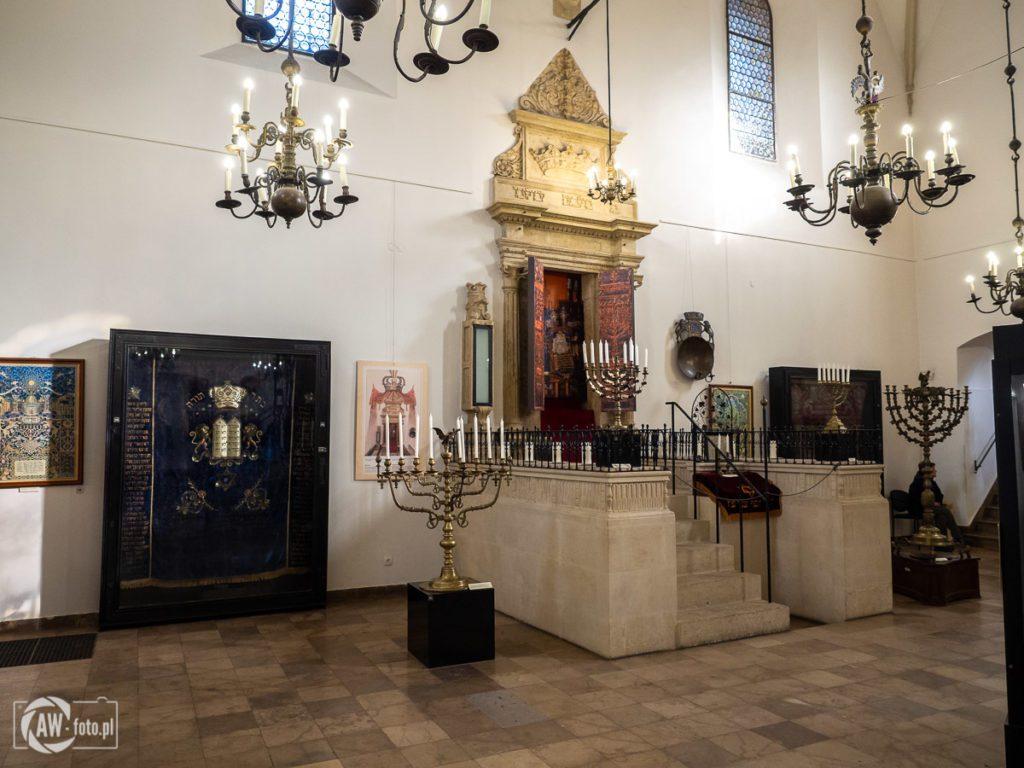 Stara Synagoga w Krakowie - Parochet