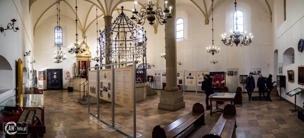 Stara Synagoga w Krakowie - główna sala modlitewna