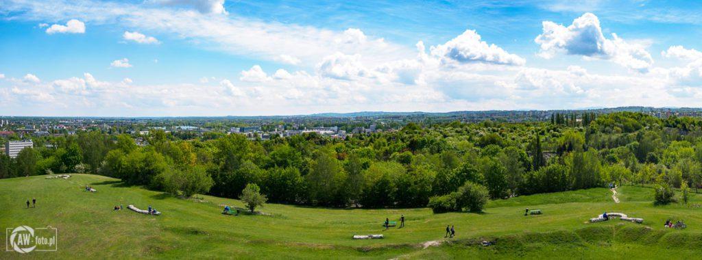 Panorama z kopca Krakusa