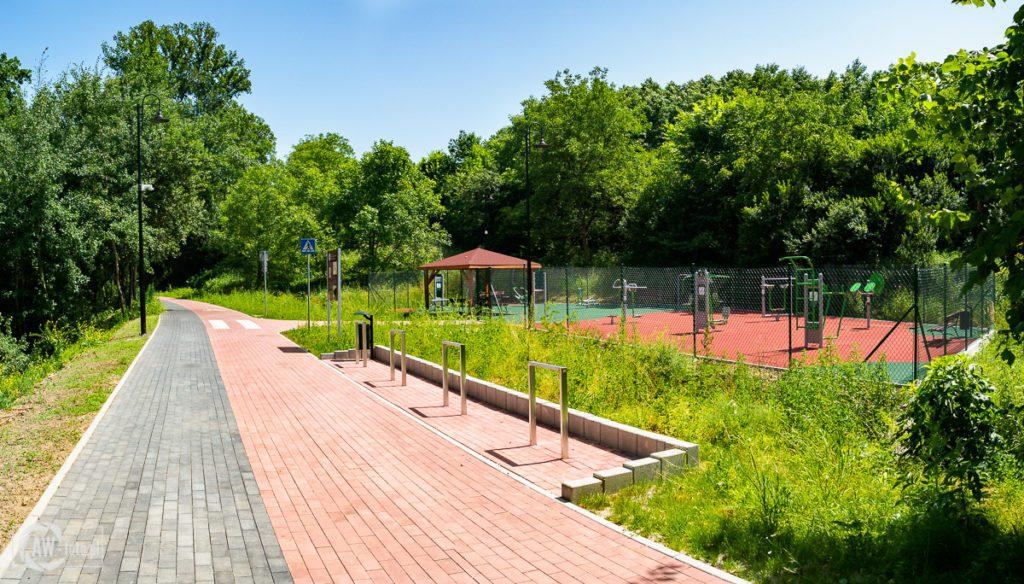 Kolejka w Bochni -zielona siłownia