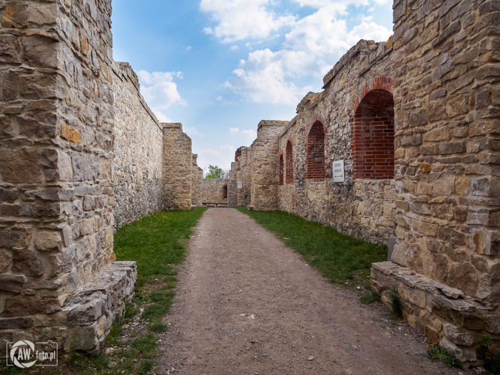 Zamek Tenczyn - sień