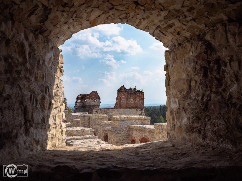 Zamek Tenczyn w Rudnie - ruiny