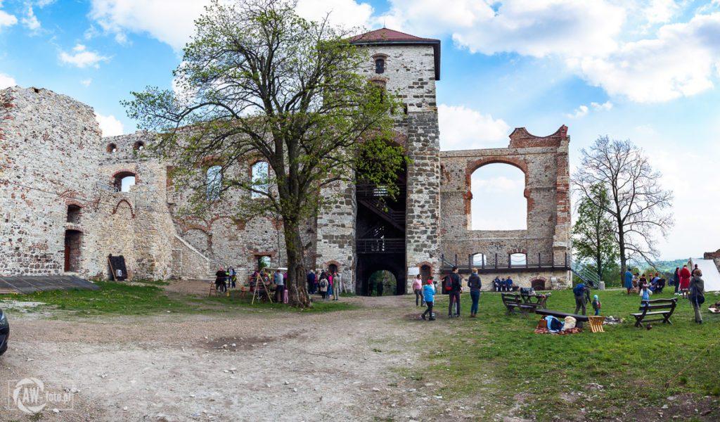 Zamek Tenczyn w Rudnie - wieża Nawojowa