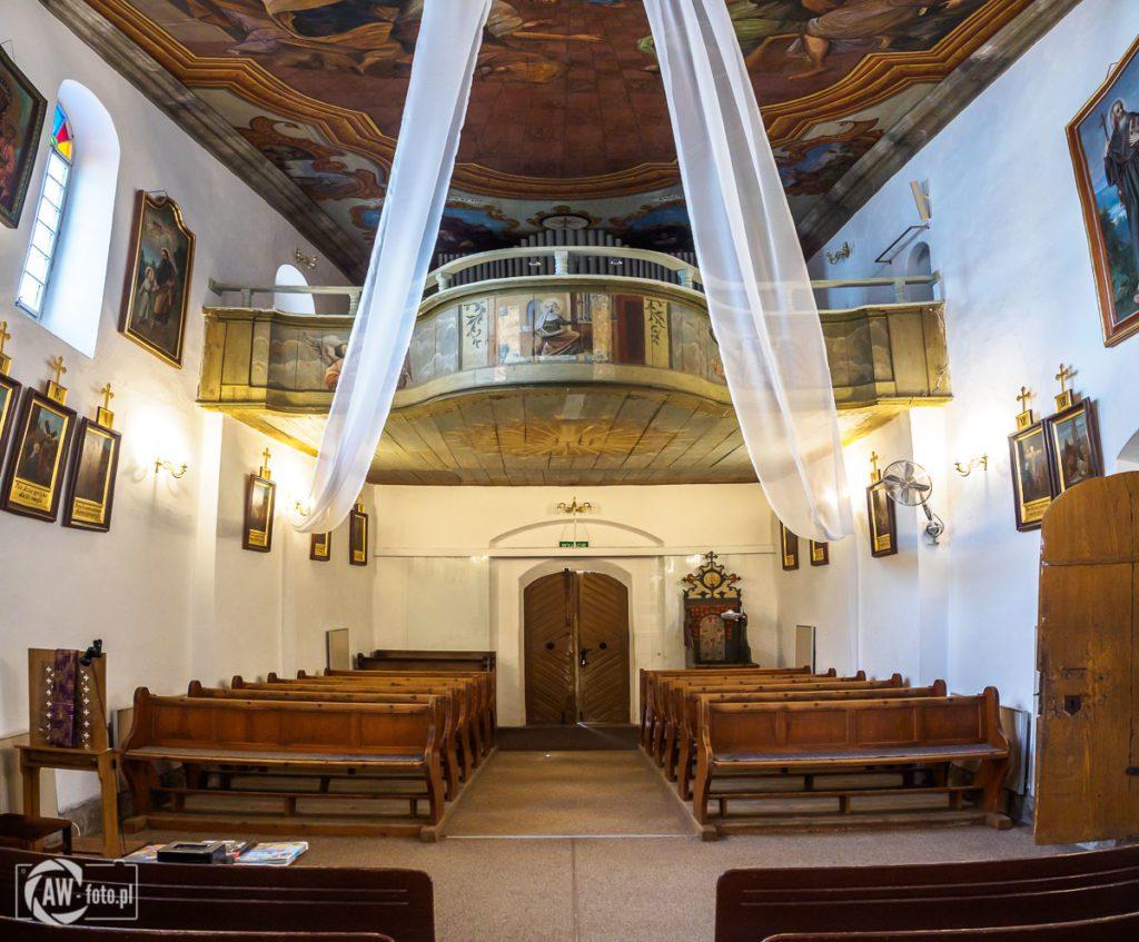 Sanktuarium Świętych Pustelników Świerada i Benedykta w Tropiu - chór