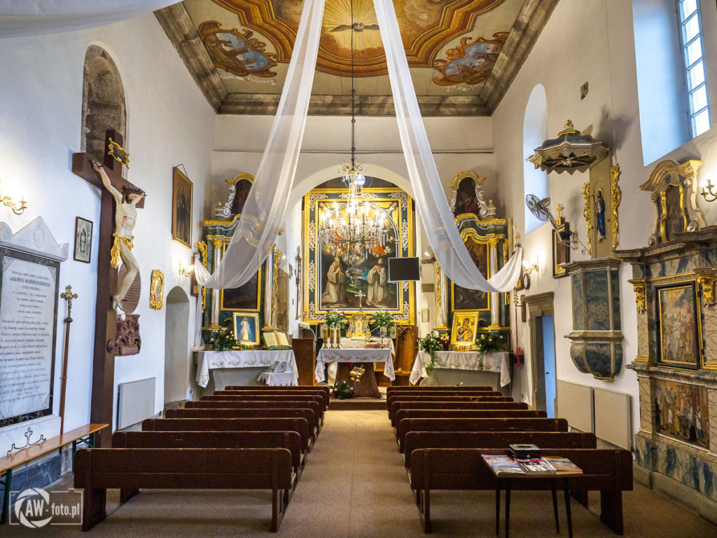 Sanktuarium Świętych Pustelników Świerada i Benedykta w Tropiu - ołtarz główny