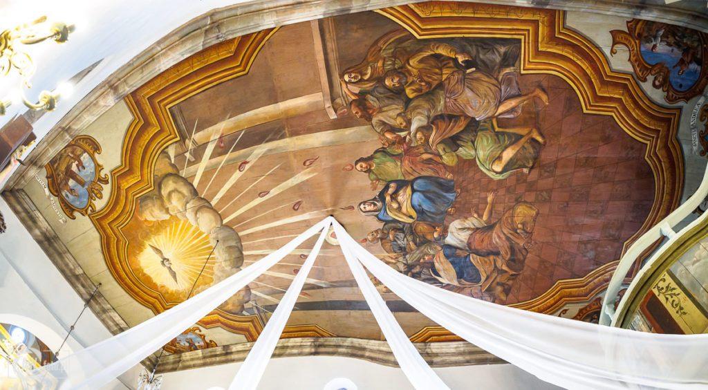 Sanktuarium Świętych Pustelników Świerada i Benedykta w Tropiu - sklepienie