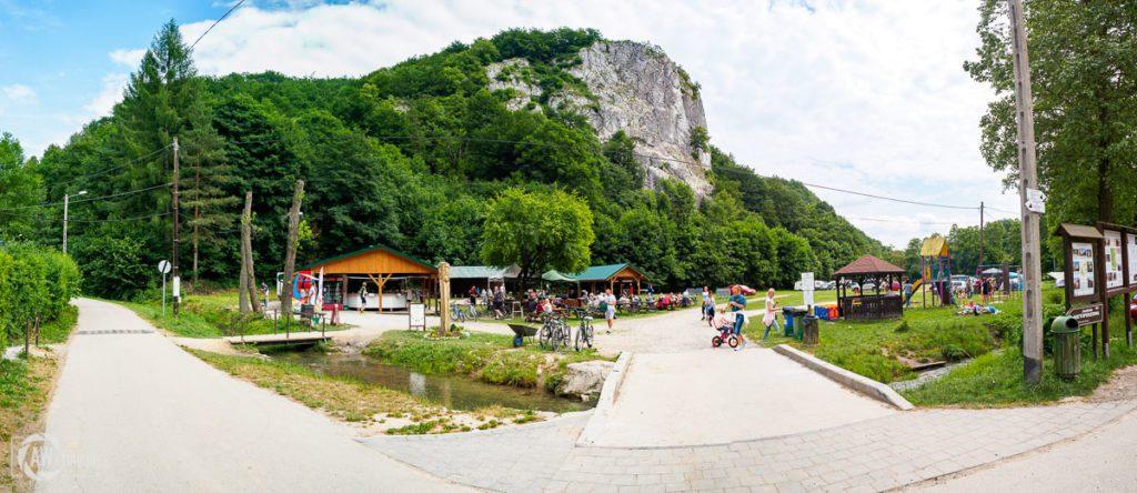 Dolina Będkowska - Sokolica i punkty gastronomiczne