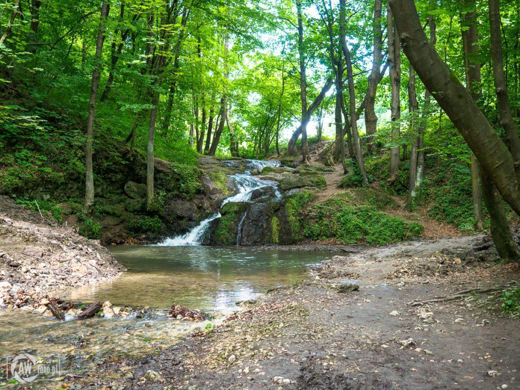 Dolina Będkowska - Wodospad Szum