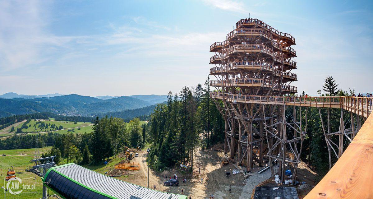 Wieża widokowa w Krynicy - Zdroju