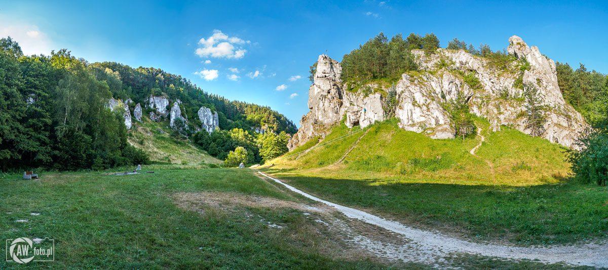 Dolina Kobylańska - Brama Kobylańska