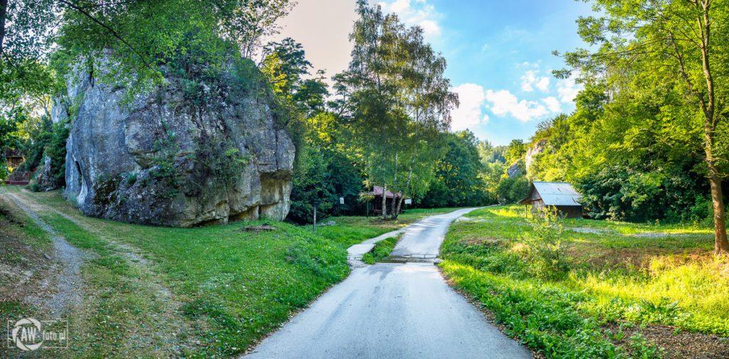Dolina Kobylańska - postój