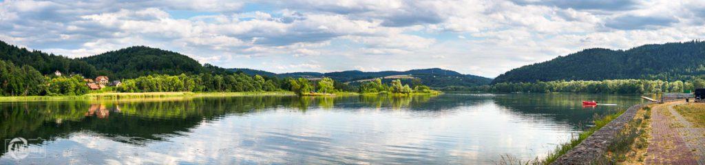 Jezioro Czchowskie - panorama
