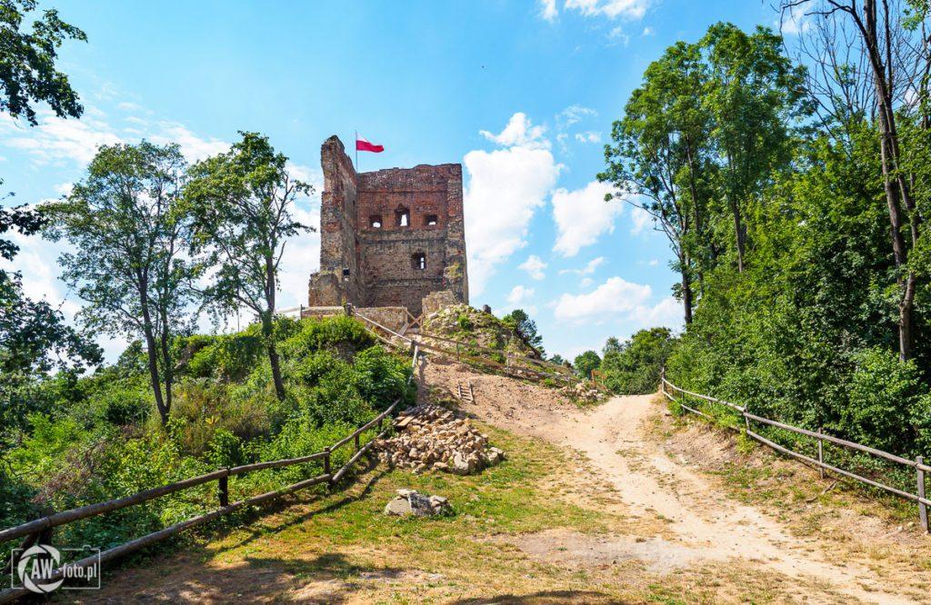Zamek w Melsztynie - ruiny