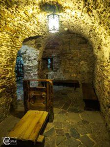 Zamek w Niedzicy - więzienie w zamku średnim