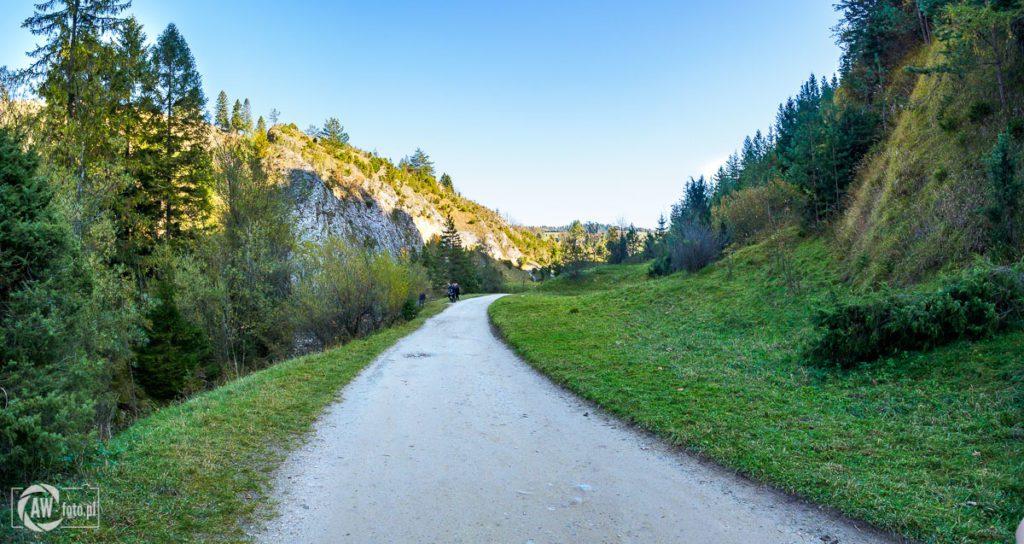 Rezerwat Biała Woda - szlak przez rezerwat