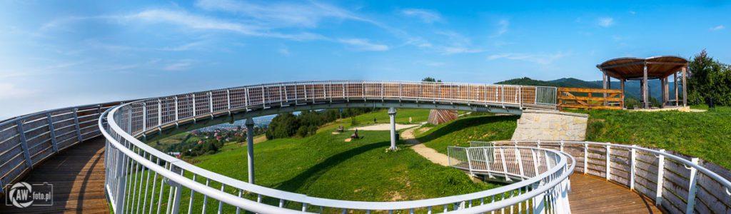 Platforma widokowa w Woli Kroguleckiej - ślimak