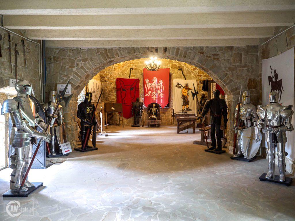 Zamek Tropsztyn - sala tortur
