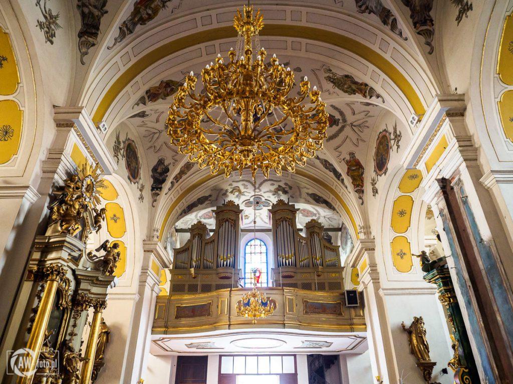 Bazylika św. Mikołaja w Bochni - chór
