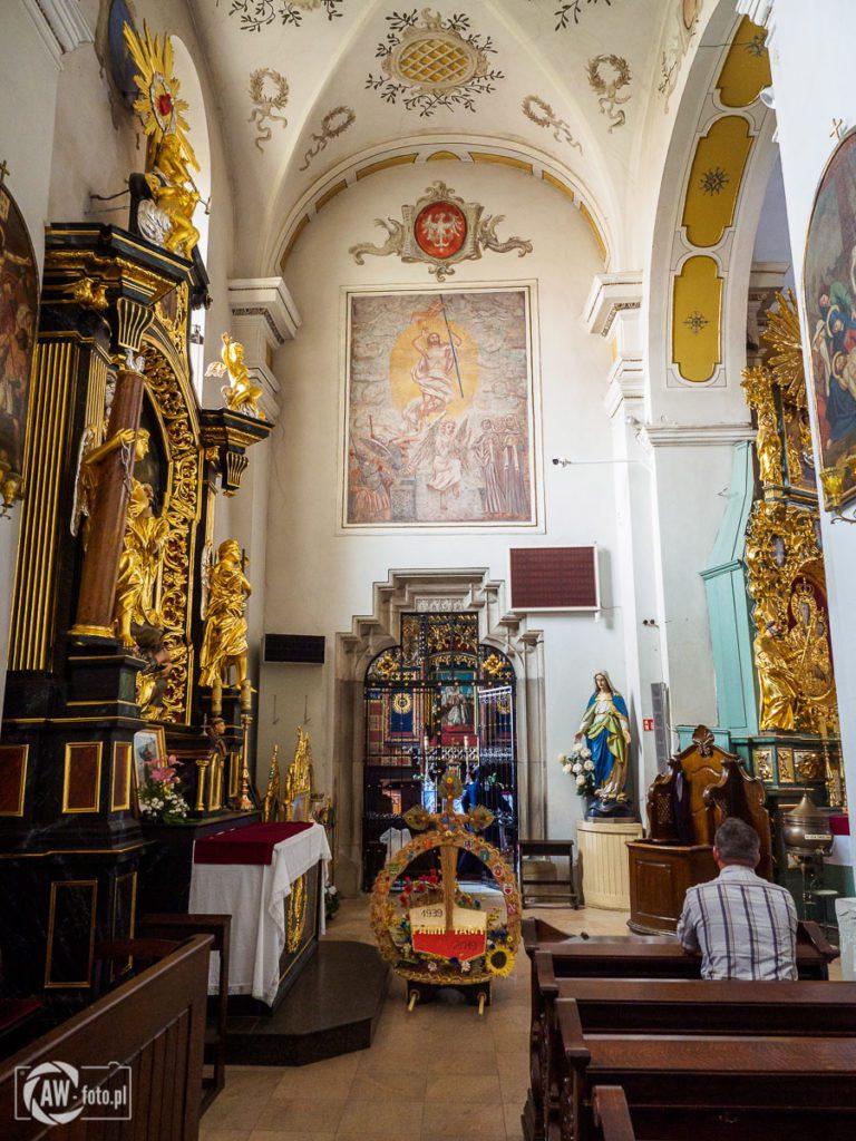 Bazylika św. Mikołaja w Bochni - nawa północna z kaplicą św. Kingi