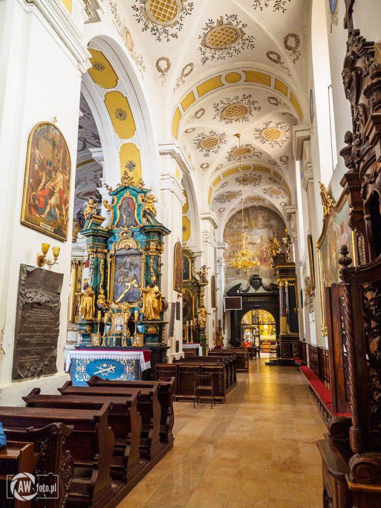 Bazylika św. Mikołaja w Bochni - nawa południowe świątyni