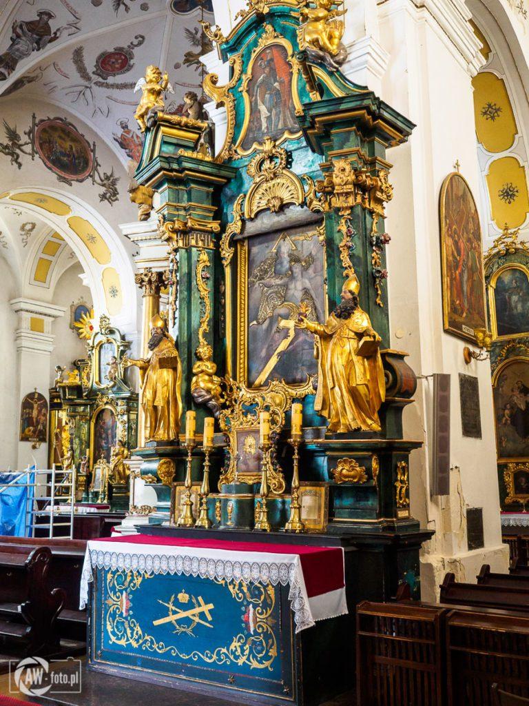 Bazylika św. Mikołaja w Bochni - ołtarz Świętej Trójcy