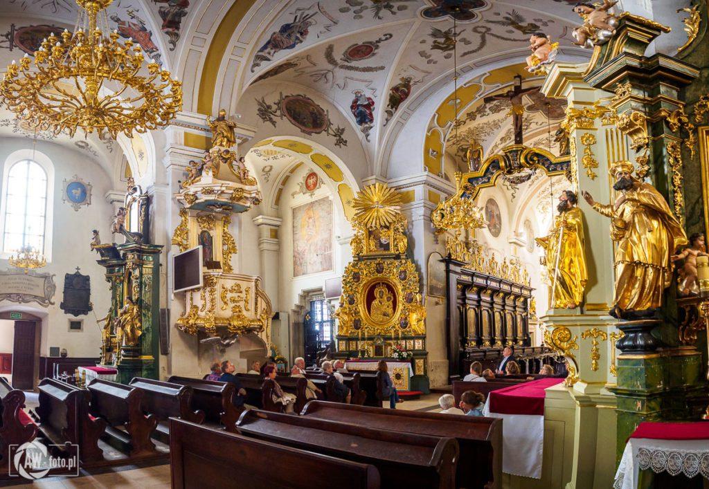 Bazylika św. Mikołaja w Bochni - wnętrze bazyliki