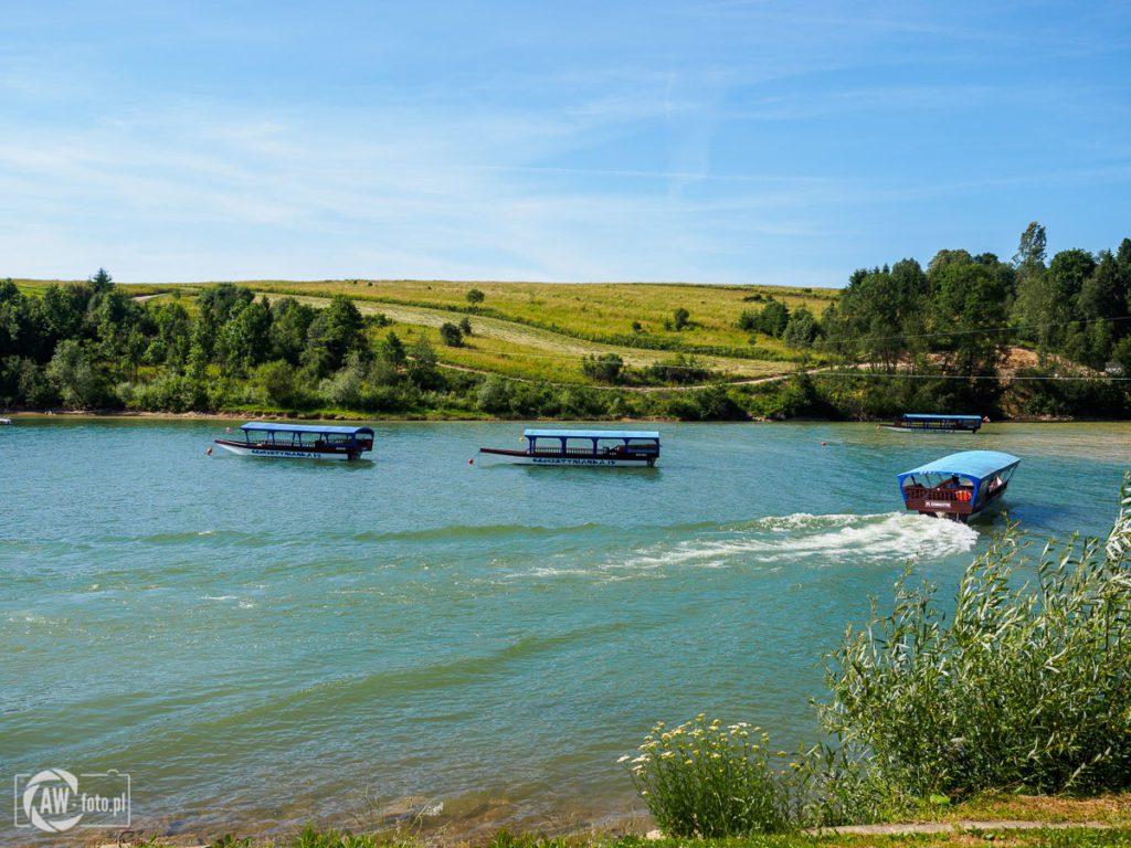 Jezioro Czorsztyńskie - gondole