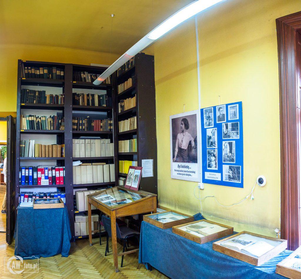 Archiwum Państwowe w Bochni - sala czytelnicza