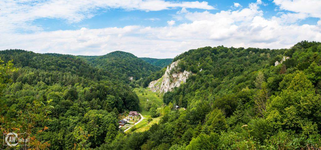 Ojcowski Park Narodowy - szlak widokowy