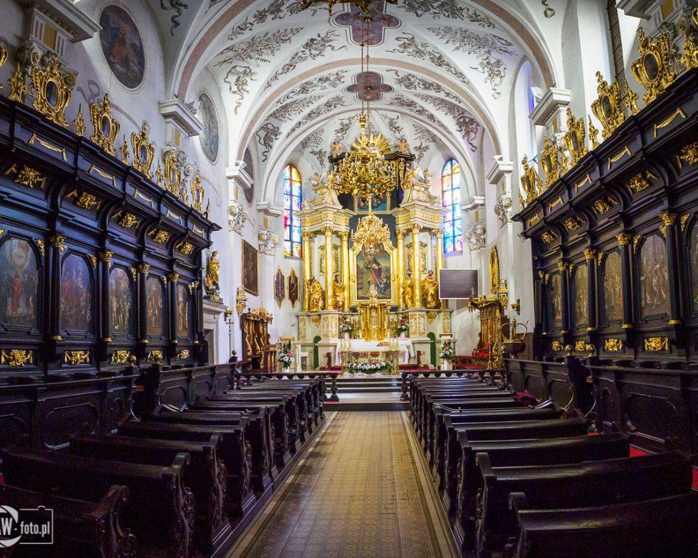 Bazylika św. Mikołaja w Bochni - prezbiterium 2