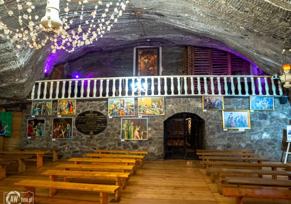 Kopalnia Soli w Bochni - chór w kaplicy św. Kingi