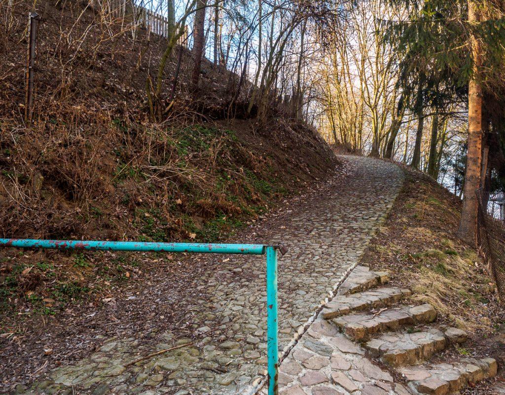Via Regia Antiqua - grodzisko Chełm