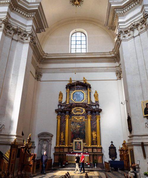 Kaplica św. Anny Samotrzeciej , Kościół św. Apostołów Piotra i Pawła w Krakowie
