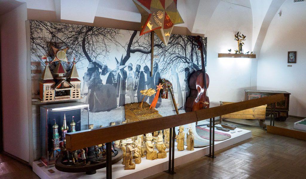Muzeum im. Stanisława Fischera w Bochni - wystawa ludowych zwyczajów bożonarodzeniowych