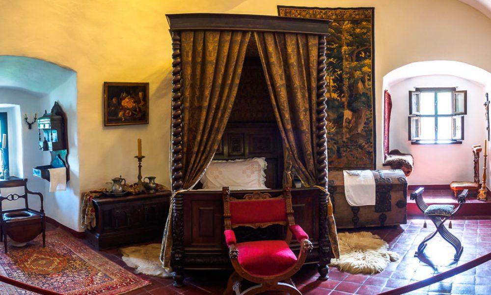 Zamek w Niedzicy - komnata mieszkalna w zamku górnym