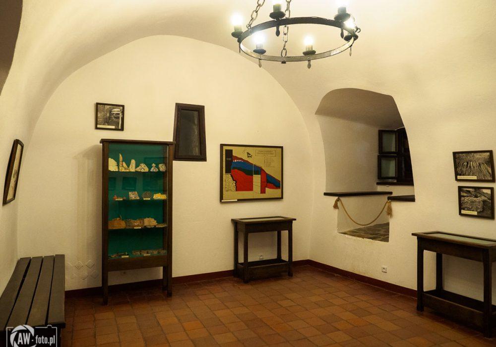 Zamek w Niedzicy - komnaty historyczne na zamku średnim