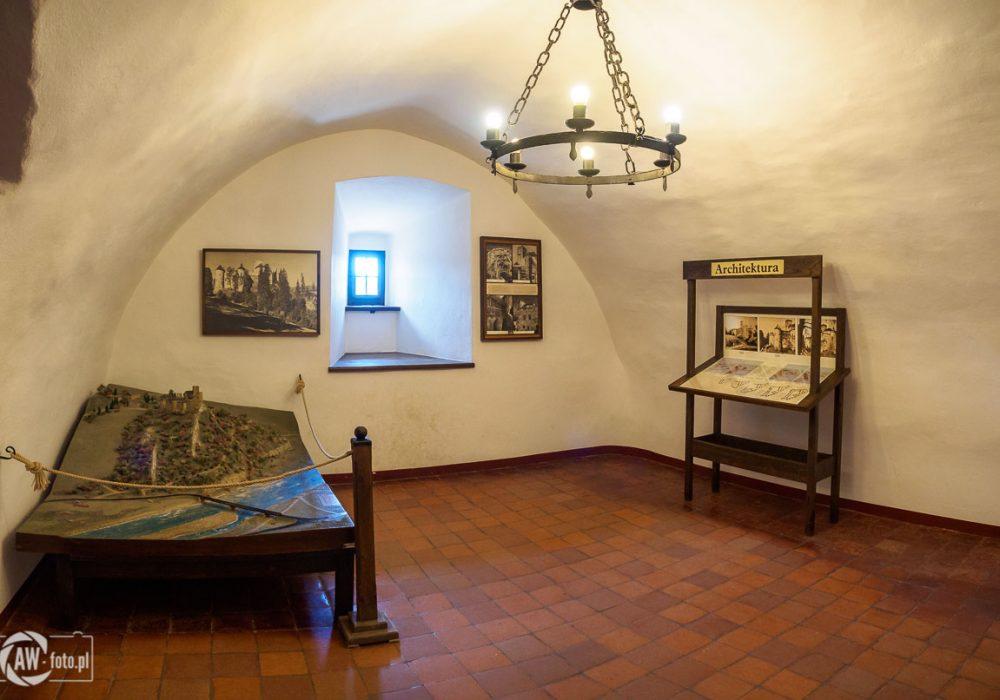 Zamek w Niedzicy - makieta zamku i plany rozbudowy